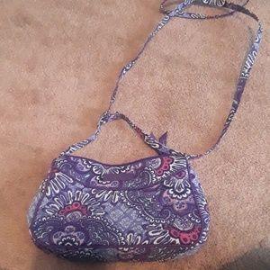 Small purple vera bradley purse